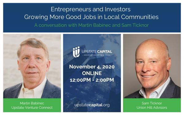 Event Recap: Entrepreneurs and Investors Growing More Good Jobs in Local Communities