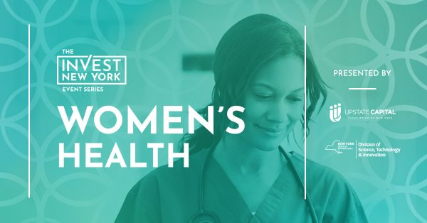 Upstate Capital to Host Invest NY: Women's Health on September 16 Online